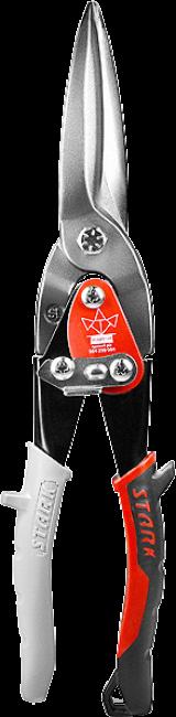 Ножницы по металлу удлиненные, прямой рез, 300 мм