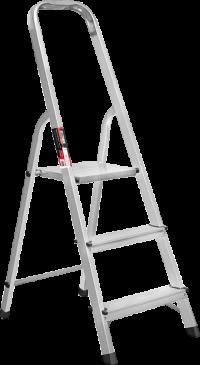 Стремянка алюминиевая Stark 3 ступени SALW403