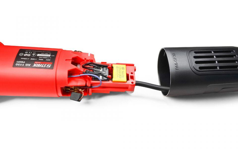 Угловая шлифмашина Stark AG 1150 PROFI