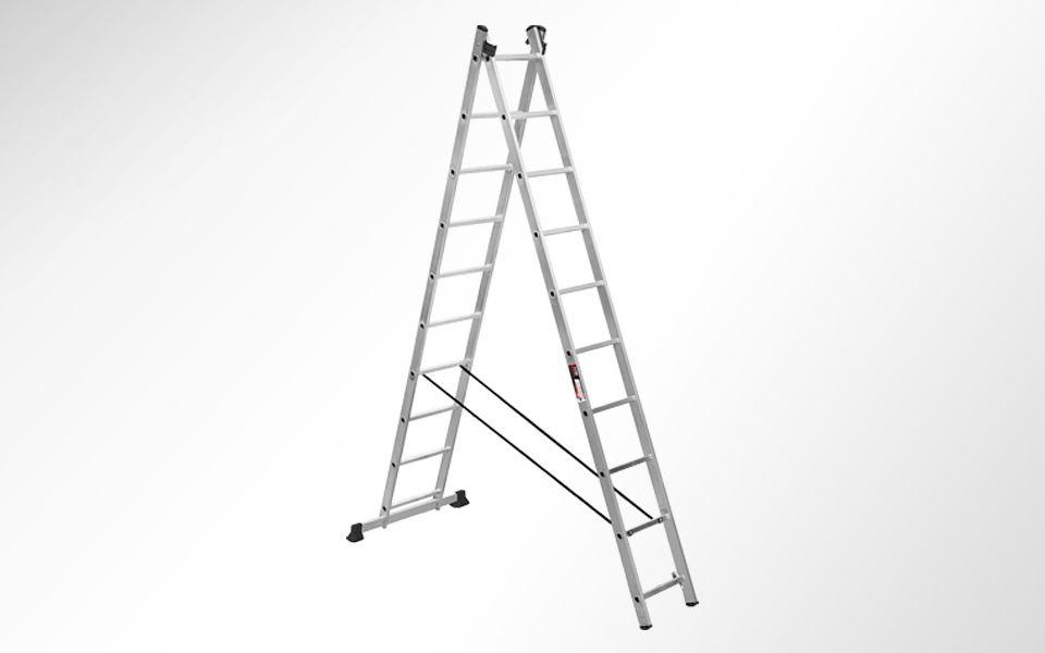 Алюминиевая двухсекционная лестница Stark SVHR2x10